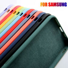 Silicone Liquid Soft Shockproof Case Cover For Samsung Galaxy S20 S10 S9 S8 Plus