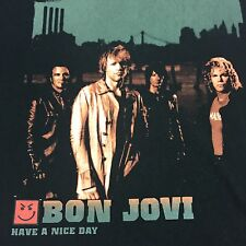 Bon Jovi 2005-2006 North American Tour T-Shirt Rock Music Band New Jersey Guitar