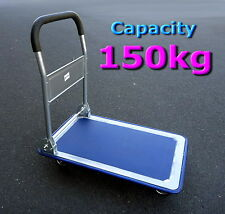 150kg Handtruck SOFT HANDLE FOLDABLE PLATFORM TROLLEY