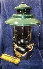 """Coleman 2-Mantle Lantern Model L227 """"Big Hat"""" dated 1/28 Jan 1928 - Restored!"""