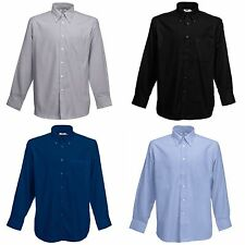 Fruit of the Loom Regular Button Cuff Formal Shirts for Men