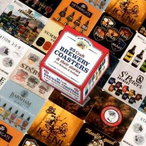 Craft Brewery Coasters/ Beer Mats Set of 25 (pwm)