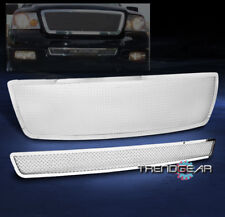 2004-2005 FORD F-150 HONEYCOMB UPPER + BUMPER STAINLESS STEEL MESH GRILLE INSERT