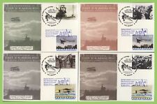 G.B. 2011 Centenary of First UK Aerial Post, First Day Cards