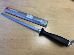 """Wusthof 10"""" Deluxe Sharpening Steel 4474/26 in retail sleeve"""