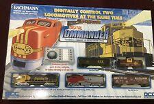 Bachmann 00501 HO DCC Digital Commander with 2-Locomotives Train Set, unused;