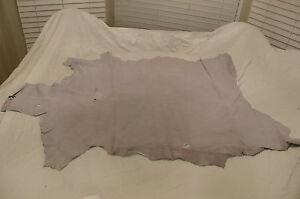 white leather goat hide goatskin 9.5 sq. ft. for bookbinding & other crafts c39