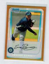 2011 11 ERASMO RAMIREZ BOWMAN CHROME GOLD REFRACTOR ROOKIE #BCP189 #ED 40/50