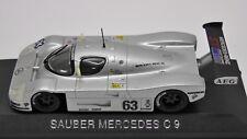 Sauber Mercedes C9 J. Mass M. Reuter World Champions 1989 Max Models 1:43