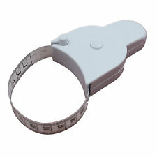Body Tape Measure White Waist Weight Loss Aid Fat Retractable Fitness Health gym