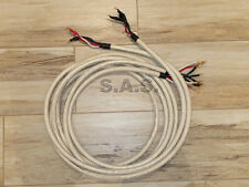 TARA LABS RCS-PRIME BI-WIRE SPEAKER CABLE - 12-FT - PAIR - NICE CONDITIONS!