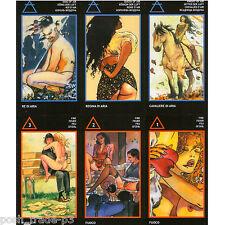 Manara: The Erotic Tarot by Milo Manara 6 Languages Regular