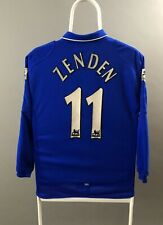 Chelsea 2001 2002 2003 Umbro Home Shirt Zenden #11 Soccer Jersey Youth L Long