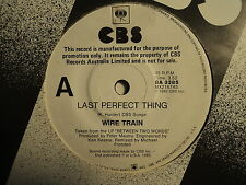 "Wire Train ""Last Perfect Thing"" White PROMO Oz 7"""