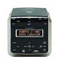 Roberts Sound 38 CD Stereo Clock Radio DAB FM Multi Alarm CD Bookmark SOUND38