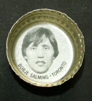 Vintage 1980-81 Pepsi Cola Hockey Caps Borje Salming - Toronto Maple Leafs