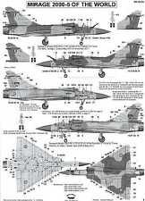 Berna Decals 1/48 DASSAULT MIRAGE 2000-5 Fighter in International Service