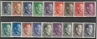 Stamp Germany Poland General Gov't Mi 071-88 Sc N76 1941 WWII Reich AH MNH