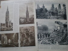 Photo article Coventry after the German bombing of November 14 1940