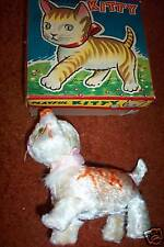 TOY  Playful KITTY  NM  in box Japan 40-50's? windup