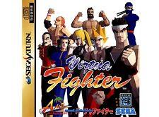 ## SEGA SATURN - Virtua Fighter 1 (JAP / JP) - TOP ##