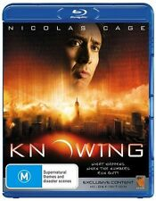 Knowing (Blu-ray, 2008) NEW Nicolas Cage