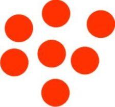 12 pegatinas de círculo car/home disponible en 15 Colores