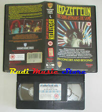 VHS LED ZEPPELIN The song remains same 1988 uk WARNER PES 61389 cd mc dvd (VM3)*
