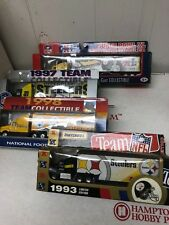 Matchbox 4pc Lot Pittsburgh Steelers Diecast NFL Truck Cars Rare NRFB