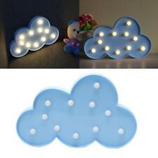 Blue Cloud LED Desk Lamp Light Fashion Kid Room Night Light Decorations CZ