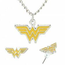 Wonder Woman Enamel Necklace & Earring Set [Apparel]