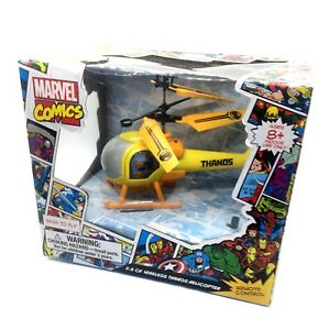 Marvel Comics Avengers 2.5 CH Wireless Thanos Helicopter w/ Remote Control