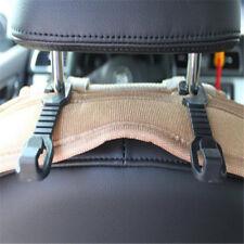 1 Pair Plastic Car Back Seat Headrest Hanger Holder Hooks for Bag Purse Storage
