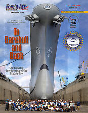Collectible Battleship Missouri Drydock Special Issue