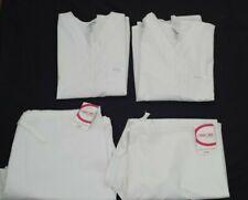 Cherokee Uniform Scrub Top And Pants 2Xl Plus Size New White Unisex