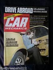 CAR MECHANICS - WINDOW WINDERS - MARCH 1976