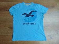 Hollister Cali Herren T-Shirt Gr  M blau