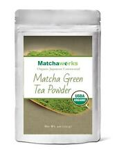Matchaworks Matcha Green Tea Powder Japanese Ceremonial Grade Organic, 4 Ounce