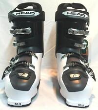 HEAD Next Edge 80 Mens Snow Ski Boots Black White Mondo 28.5 Size 10.5 NEW
