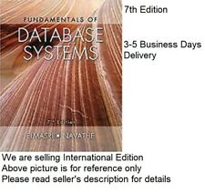 Fundamentals of Database Systems by Ramez Elmasri and Navathe