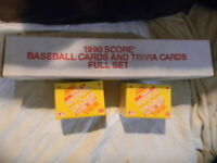 LOT 3 1990 SCORE BASEBALL COLLECTORS SEALED SET 714 & 2 SCORE RC TRADED SETS 110