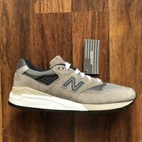 New Balance 998 Made In USA Lifestyle Shoe Men Size Gray Pig Suede