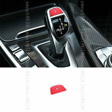 For BMW 2 3 4 5 6 Series X3 X4 X5 X6 Shift Knob Gear Shift P Shift Button Cover