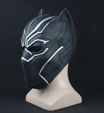 Black Panther Mask Costume Role Play Adults Avengers Superhero Helmet Party New