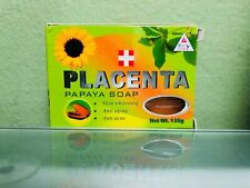BEAUTY GIRLY PLACENTA PAPAYA SKIN WHITENING & ANTI-AGING  SOAP 135g