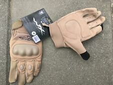 Military Surplus WileyX Durtac Smart Touch Tan glove
