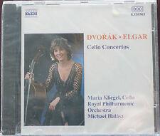 Dvorak Elgar Cello Concertos Kliegel RPO DDD Naxos CD Sealed MINT DDD Halasz