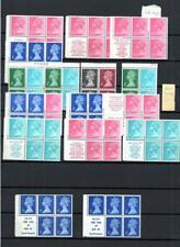 SPECIALISED COLLECTION OF UNMOUNTED MINT STITCHED BOOKLET PANES