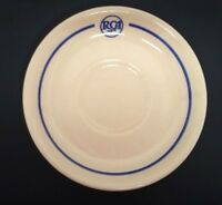 RCA Restaurant Saucer Cafeteria Sterling East Liverpool, OH Post-50s Camden NJ