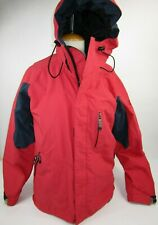 Bonfire Mens Size M Snowboard RED Ski Jacket Coat Silver Series Hooded Insulated